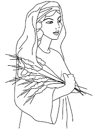 Small Picture Ruth coloring page Sunday School Pinterest Sunday school