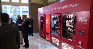 Used Vending Machines Utah Impressive Church Brilliantly Installs Vending Machines That Help You Give To