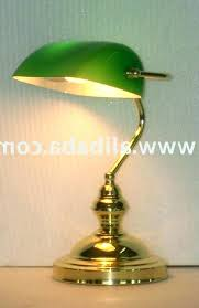 traditional bankers desk lamp brass desk lamps traditional bankers desk lamp bankers desk lamps green green