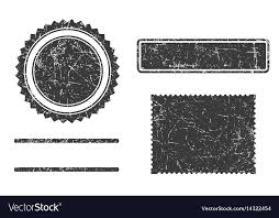 Stamps Template Set Of Grunge Stamps Template Different Forms