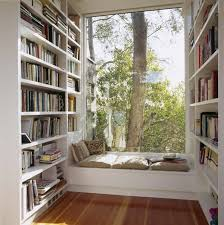 Image result for bookshelf reading nook