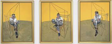 francis bacon s 1969 triptych three stus of lucian freud