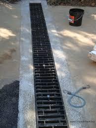 Concrete Trench Drain Design Econodrain The Versatile Poured In Place Trench Drain