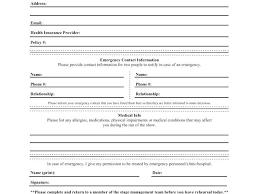 Emergency Card Template Unique Emergency Card Template Luxury Information Organization