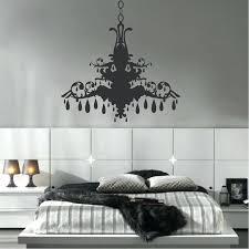 chandelier wall art sticker decal target p grunge chandelier wall decal a vinyl art