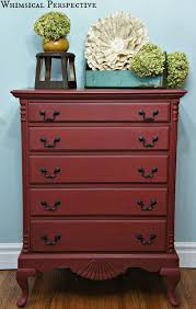 painted red furniture. more color red chalk paintannie painted furniture
