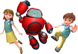 joy chris and gizmo from superbook