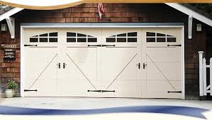 Modern Double Carriage Garage Doors I And Decor