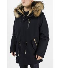 Mackage Seth Fur Lined Military Parka For Men