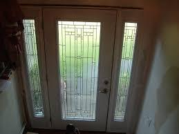 full glass entry door blinds