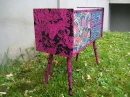 decorating furniture with paper. Decorating Furniture Using Paper (Decopatch Decorative And Glue). With S