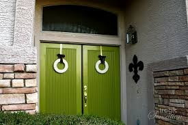 green front door55 Different Front Door Inspiration Ideas in just about every
