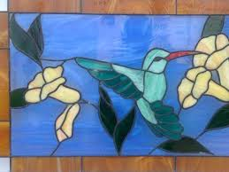 stained glass hummingbirds hummingbird splash of quilt pattern