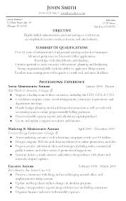 System Admin Resume Examples Administrative Assistant Objective