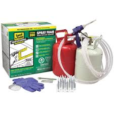 spray foam insulation kit photo of product