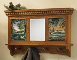 Coat Rack With Mirror Coat Rack Mirror Oak Redlin Art Center 50