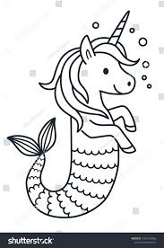 Coloring Page Cute My Little Unicorn Coloring Page Print Color Fun