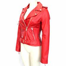 biker jackets brando red biker rock gothic leather jackets gothic jackets for women