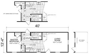 single wide mobile home floor plans.  Mobile Berger  1 Bed  Bath 534 SqFt 14 X 40 Single Wide Economy Priced  Homes Inside Mobile Home Floor Plans R