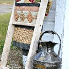diy vintage furniture. Plain Vintage How To Make A DIY Vintage Ladder Tutorial Simple Assembly Using Pegs Like  Old Furniture For Diy Vintage Furniture R