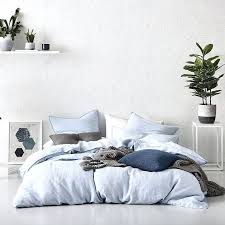blue linen duvet cover with regard to your own home home republic vintage washed linen chambray blue linen duvet cover