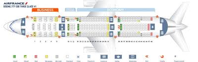 Air France A380 800 Seat Chart Air France Fleet Boeing 777 200er Details And Pictures