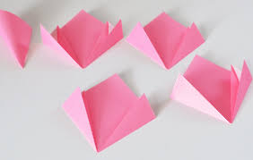 Paper Origami Flower Making Make A Origami Flower How To Make Origami Flowers Dream A Little