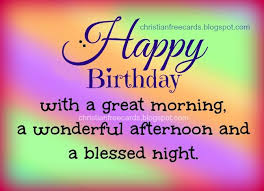 Birthday Blessing Quotes Interesting Happy Birthday Blessings To You Free Images Free Christian Quotes