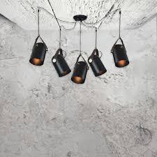 black vintage spider pendant lights cer of 5 black vintage suspended shades