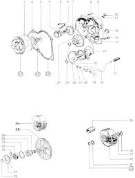 puch engine diagram puch korado moped pkmectx1 clutch cover circlip approx 4 1 4 additional information