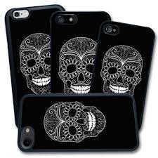 Cover Teschio Skull Semplice Bianco E Nero Disegno Apple Iphone 4 5