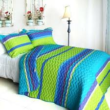 exotic fantasy wood cotton fl vermicelli quilted patchwork quilt set twin size lime green comforter comforters xl
