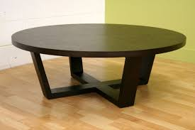 round dark wood coffee table contemporary large round black coffee table chocoaddicts