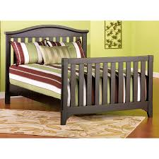 wooden kidco convertible crib bed rail