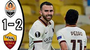 SHAKHTAR DONETSK VS ROMA, 1 - 2/ ALL GOALS AND EXTENDED HIGHLIGHTS/ UEFA  EUROPA LEAGUE - YouTube