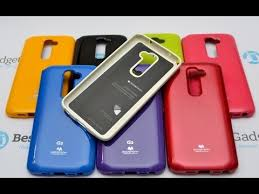 <b>Чехол Goospery</b> (<b>Mercury</b>) Jelly Case для LG G2 | Обзор - YouTube