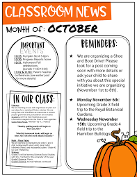 october newsletter ideas mrs turnbulls class blog welcome to our positive learning