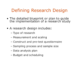 research design secondary data defining research