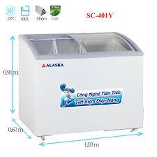 Tủ đông kem Alaska SC-401Y 400 lít | Điện Lạnh Nguyễn Khánh