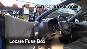 interior fuse box location 1997 2003 ford escort 2002 ford escort 98 Ford ZX2 Sport locate interior fuse box and remove cover