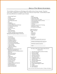 Listing Computer Skills On Resume Resume Name