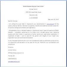 Dental Assistant Cover Letter Dental Assistant Resume Cover Letter