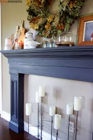 diy faux fireplace surround plans rogue engineer 6