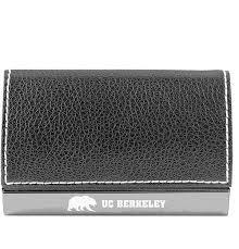 Uc Berkeley Laser Engraved Business Card Holder Silver Shop