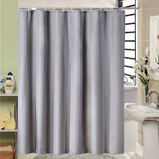 2019 european style modern grey bathroom shower curtain fabric liner with 12 hooks 71x71 inch waterproof and mildewproof bath curtain from likejason