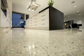 Beautiful Polished Concrete Floor Kitchen Ground And Polished Cement Floors