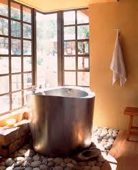 Charming Japanese Soaking Tub Minimalist tub Bathroom Furniture