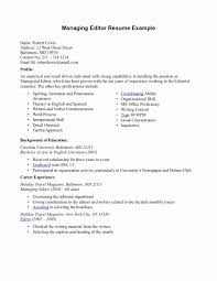 managing editor resume resume format for editing lovely editor resume sample resume