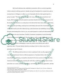 Essay On Tolerance Comparing Two Pathways Nussbaums And Mcconnells To Tolerance And Essay