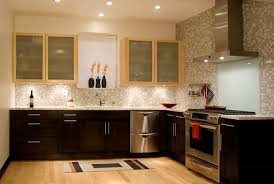 Interesting Dark Kitchen Cabinets Colors Bamboo Floors With Design Inspiration
